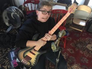 I stole a bass!