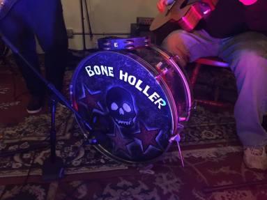 Drum in action